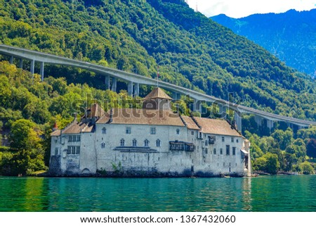 Chillon Castle Switzerland #1367432060
