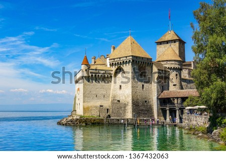 Chillon Castle Switzerland #1367432063