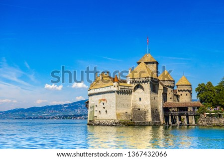 Chillon Castle Switzerland #1367432066