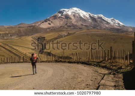 Chimborazo is a currently inactive stratovolcano in the Cordillera Occidental range of the Andes.With a peak elevation of 6,263 m, Chimborazo is the highest mountain in Ecuador