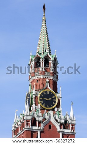 chimes of the Spassky Tower of Moscow Kremlin