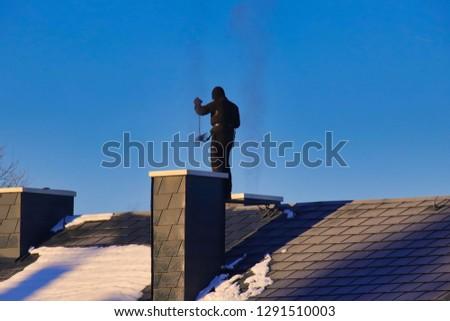 chimney sweep as good luck charm