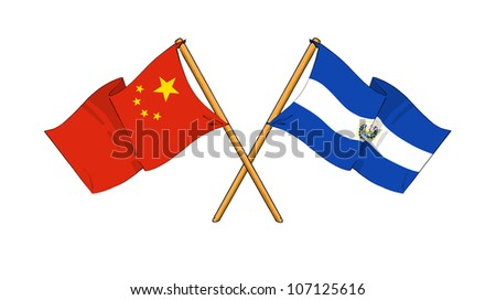 China and El Salvador alliance and friendship