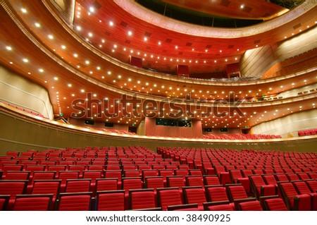 China National Grand Theater interior (in Beijing)