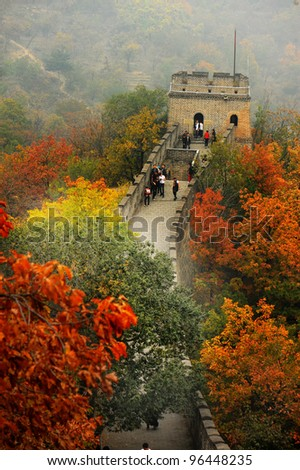 China's Great Wall, otumn
