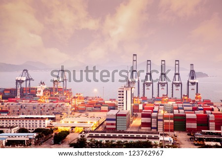 China Shenzhen, Yantian Port