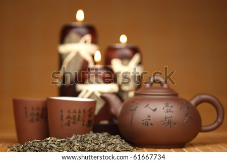china tea background