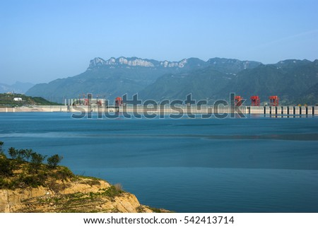 China Three Gorges Dam Reservoir #542413714