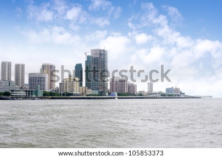 China Xiamen skyline