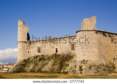 Chinchon Castle (Castillo de Chinchon) is a fortification dating to the 16th century located in the south of the Community of Madrid, Spain.