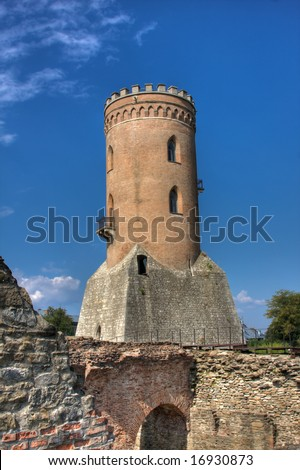 Chindia Tower In Targoviste, Romania Stock Photo 16930873 ...