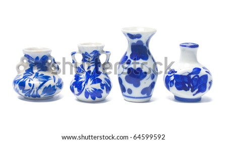 Chinese Antique Vase, Clipping Path Included