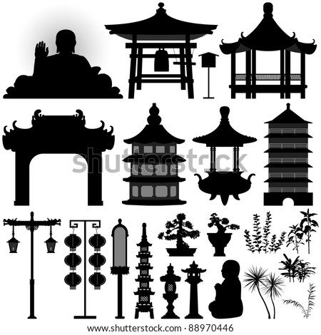 Architecture Design Elements spanish architecture design elements: polygonal style houses and