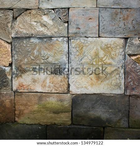 chinese brick / old wall / history
