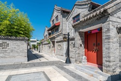 Chinese classical courtyard architecture landscape
