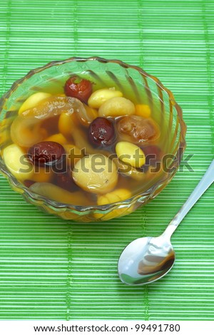 Chinese dessert made ??from grains of various kinds