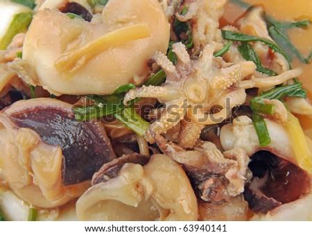 Chinese dish squid