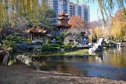 Chinese Garden at Sydney Australia