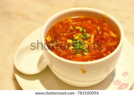 Chinese Hot and Sour Soup #783100096