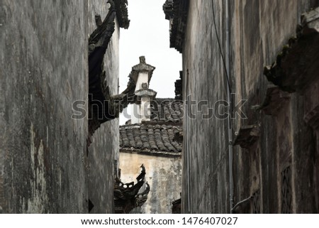 Chinese Jiangnan Ancient Town Ancient Architecture History