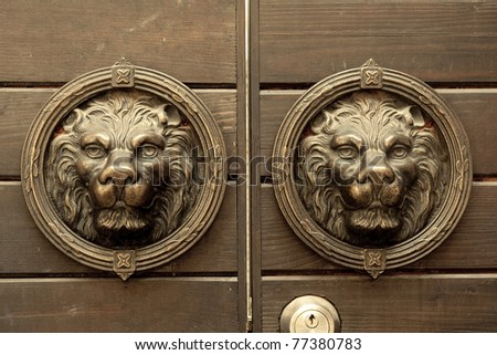 Chinese Lion Decoration - stock photo