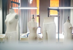 Chinese native garment production workshop sample dummy