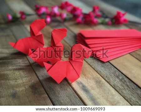 Anges images for Ang pao origami
