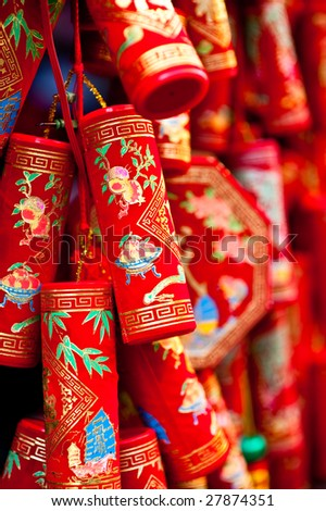 Chinese New Year decoration good luck charms