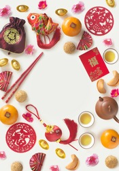 Chinese new year decorative item with