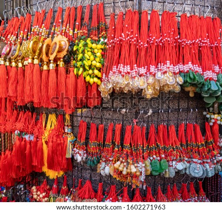 Chinese New Year good luck charms for sale