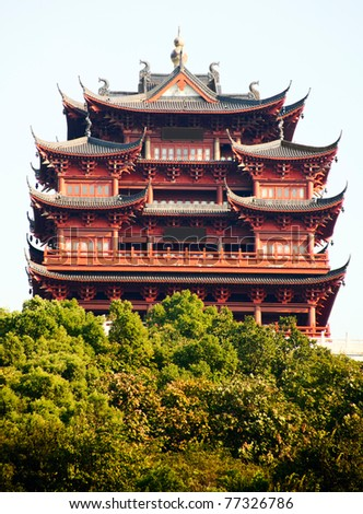 Chinese old Traditional Shrine