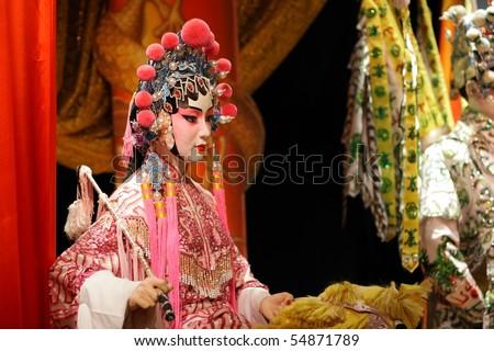 chinese opera dummy, female