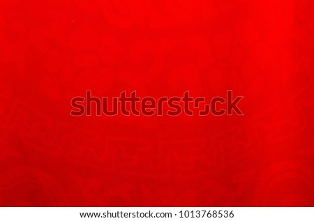 Chinese red patterned background on fabric,Chinese stage backdrop celebrating Chinese New Year