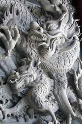 chinese statue dragon