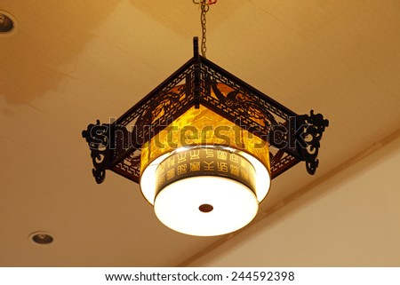 Chinese style droplight, do manual work is delicate, very beautiful