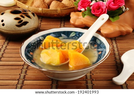 Chinese sweet potato soup