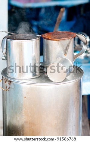 Chinese tea and coffee equipment ,tool chinese style use by stainless for do Asia Beverages style