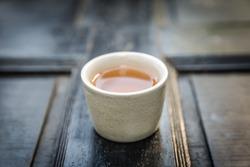 Chinese tea, tea time