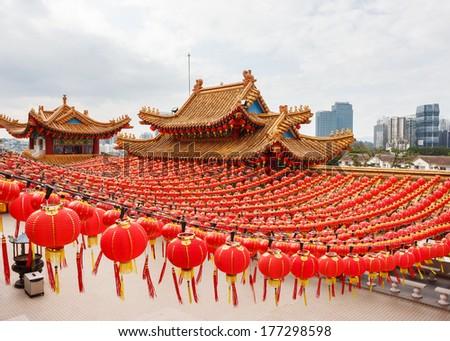 Chinese Temple Thean Hou in Kuala Lumpur, Malaysia