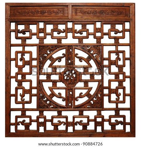 Chinese Traditional wood carvings