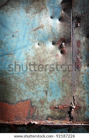 chipped paint rusty textured metal background
