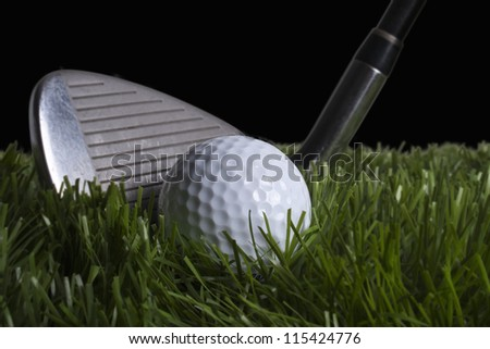Chipping Golf ball
