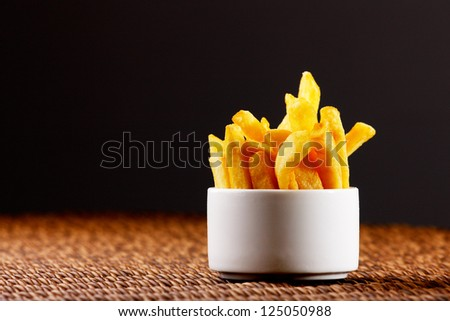 Chips, also known as French Fries are more British than French