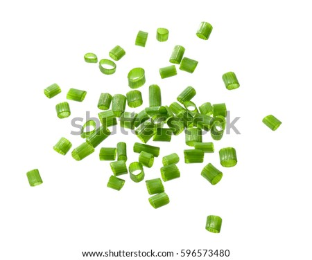 chives isolated