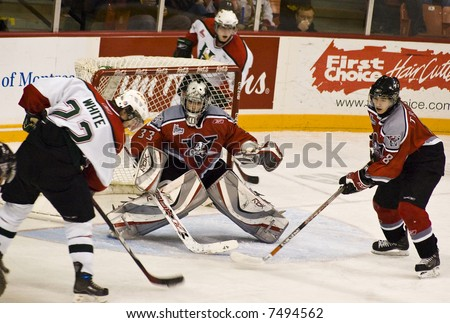 CHL Hockey Action - Halifax Mooseheads versus Drummondville Voltigeurs (Dec 2, 2007)