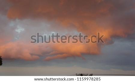chmura obłok tło Zdjęcia stock ©