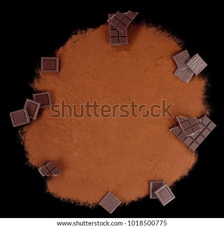 Chocolat Cacao Chocolate Photo stock ©