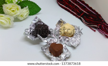 Chocolat homemade / cokelat varian bentuk