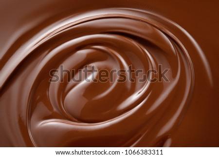 Chocolate background. Chocolate. #1066383311