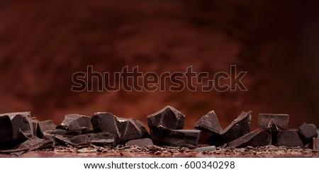 Chocolate bar pieces #600340298